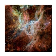 Tarantula Nebula Central Portion Tile Coasters