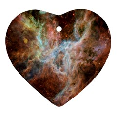 Tarantula Nebula Central Portion Ornament (Heart)