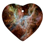 Tarantula Nebula Central Portion Ornament (Heart)  Front