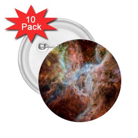 Tarantula Nebula Central Portion 2.25  Buttons (10 pack)