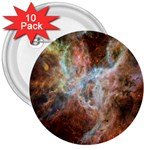 Tarantula Nebula Central Portion 3  Buttons (10 pack)  Front