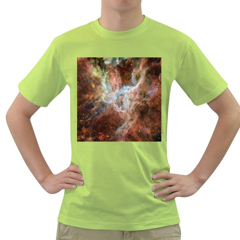 Tarantula Nebula Central Portion Green T-Shirt