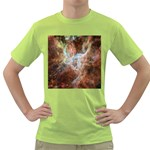 Tarantula Nebula Central Portion Green T-Shirt Front