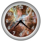 Tarantula Nebula Central Portion Wall Clocks (Silver)  Front