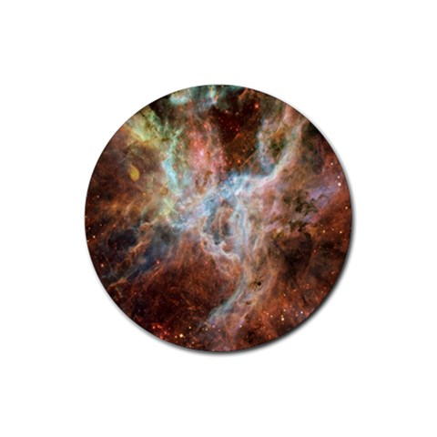 Tarantula Nebula Central Portion Rubber Coaster (Round)