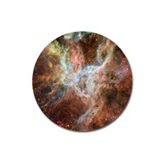 Tarantula Nebula Central Portion Magnet 3  (Round)