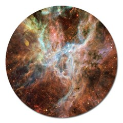 Tarantula Nebula Central Portion Magnet 5  (Round)
