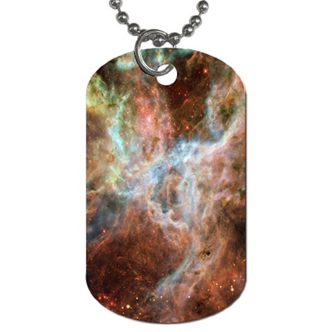 Tarantula Nebula Central Portion Dog Tag (One Side)