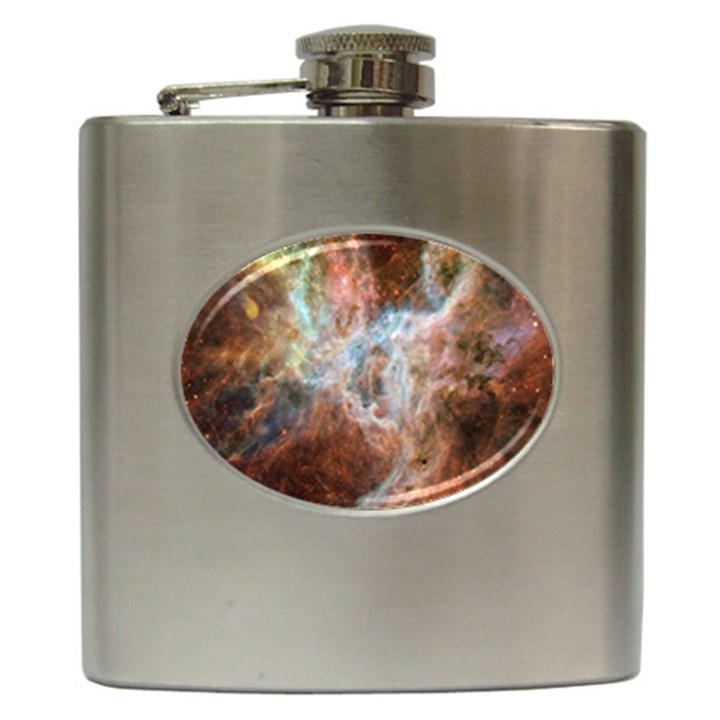Tarantula Nebula Central Portion Hip Flask (6 oz)