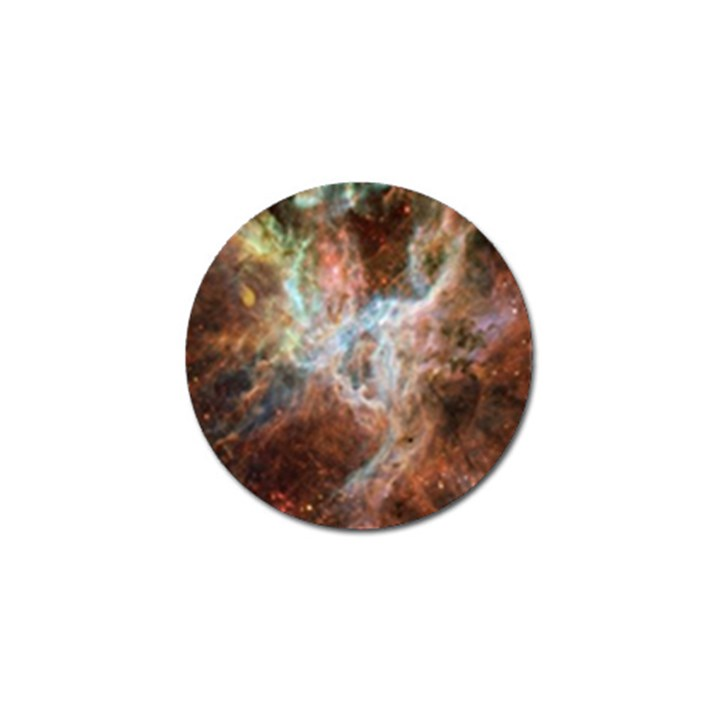 Tarantula Nebula Central Portion Golf Ball Marker