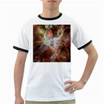 Tarantula Nebula Central Portion Ringer T-Shirts Front