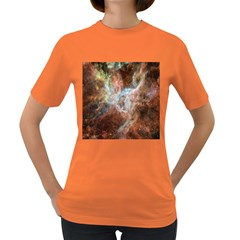 Tarantula Nebula Central Portion Women s Dark T-Shirt