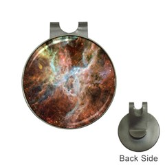 Tarantula Nebula Central Portion Hat Clips with Golf Markers