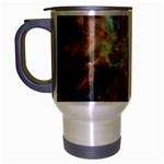 Tarantula Nebula Central Portion Travel Mug (Silver Gray) Left