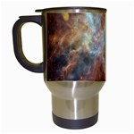 Tarantula Nebula Central Portion Travel Mugs (White) Left