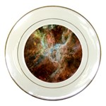 Tarantula Nebula Central Portion Porcelain Plates Front