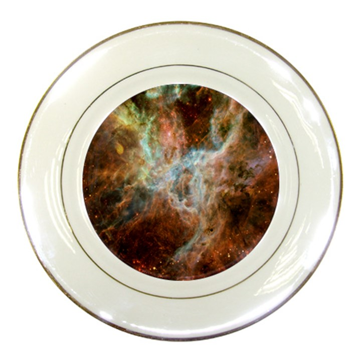 Tarantula Nebula Central Portion Porcelain Plates