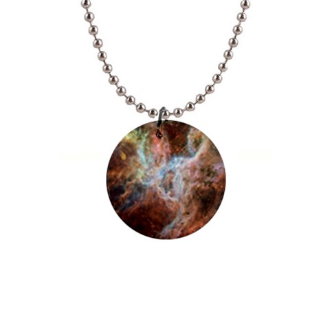 Tarantula Nebula Central Portion Button Necklaces