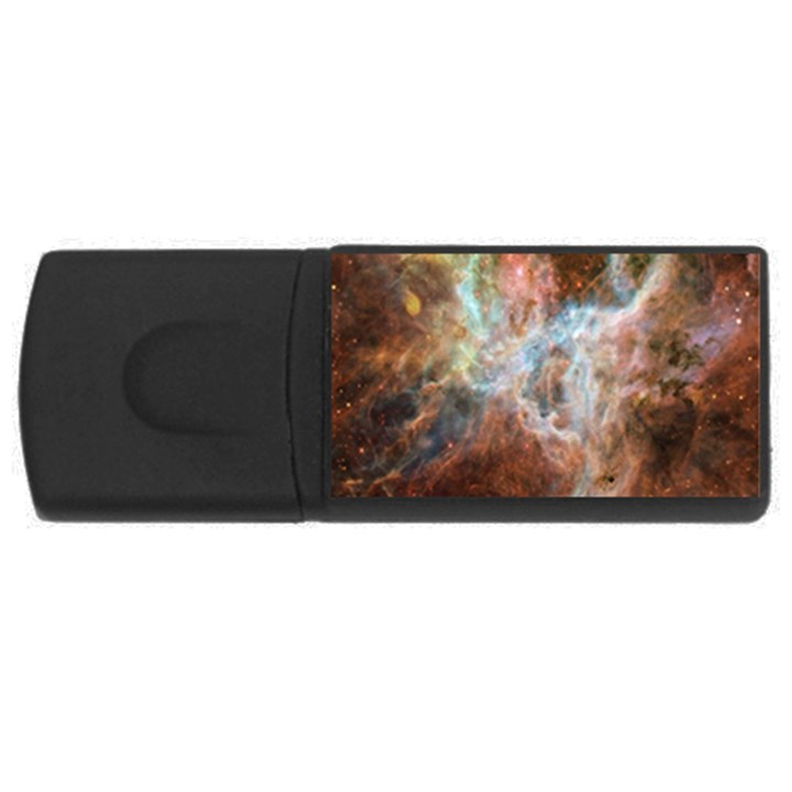 Tarantula Nebula Central Portion USB Flash Drive Rectangular (4 GB)