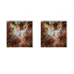 Tarantula Nebula Central Portion Cufflinks (Square)