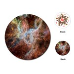 Tarantula Nebula Central Portion Playing Cards (Round)  Front