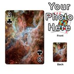 Tarantula Nebula Central Portion Playing Cards 54 Designs  Front - Club3