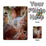 Tarantula Nebula Central Portion Playing Cards 54 Designs  Front - Club4