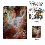 Tarantula Nebula Central Portion Playing Cards 54 Designs  Front - Club7