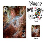 Tarantula Nebula Central Portion Playing Cards 54 Designs  Front - Club10