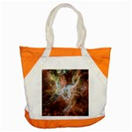 Tarantula Nebula Central Portion Accent Tote Bag Front