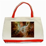 Tarantula Nebula Central Portion Classic Tote Bag (Red) Front