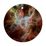 Tarantula Nebula Central Portion Round Ornament (Two Sides)  Front