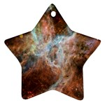 Tarantula Nebula Central Portion Star Ornament (Two Sides)  Front