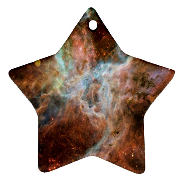 Tarantula Nebula Central Portion Star Ornament (Two Sides)
