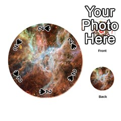 Tarantula Nebula Central Portion Playing Cards 54 (Round)