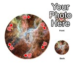Tarantula Nebula Central Portion Playing Cards 54 (Round)  Front - Diamond10