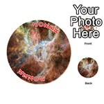Tarantula Nebula Central Portion Playing Cards 54 (Round)  Front - Joker2