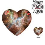 Tarantula Nebula Central Portion Playing Cards 54 (Heart)  Front - Diamond6