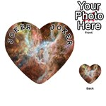 Tarantula Nebula Central Portion Playing Cards 54 (Heart)  Front - Joker1