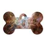 Tarantula Nebula Central Portion Dog Tag Bone (One Side) Front