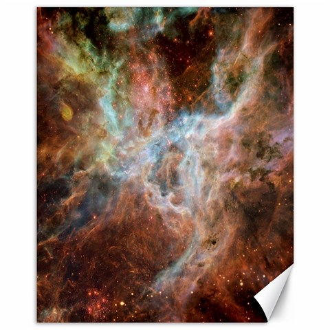 Tarantula Nebula Central Portion Canvas 11  x 14