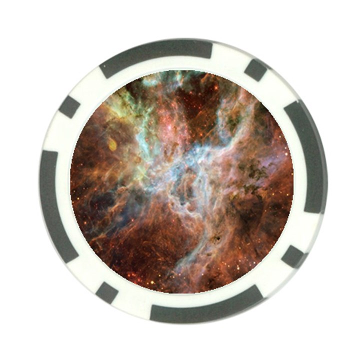 Tarantula Nebula Central Portion Poker Chip Card Guards