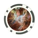 Tarantula Nebula Central Portion Poker Chip Card Guards Back