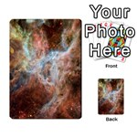 Tarantula Nebula Central Portion Multi-purpose Cards (Rectangle)  Back 47