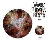Tarantula Nebula Central Portion Multi-purpose Cards (Round)  Back 15