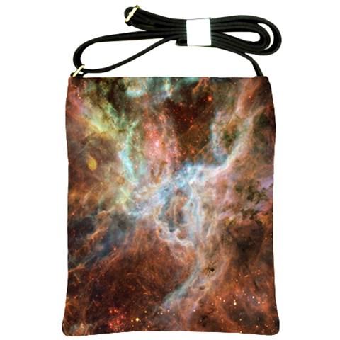 Tarantula Nebula Central Portion Shoulder Sling Bags