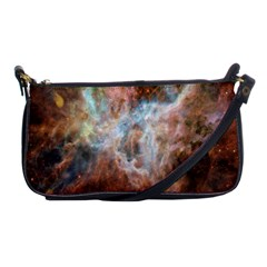Tarantula Nebula Central Portion Shoulder Clutch Bags