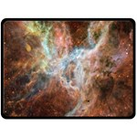 Tarantula Nebula Central Portion Fleece Blanket (Large)  80 x60 Blanket Front