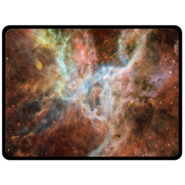 Tarantula Nebula Central Portion Fleece Blanket (Large)