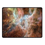 Tarantula Nebula Central Portion Fleece Blanket (Small) 50 x40 Blanket Front